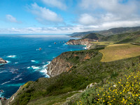 California Coast with Bixby Bridge